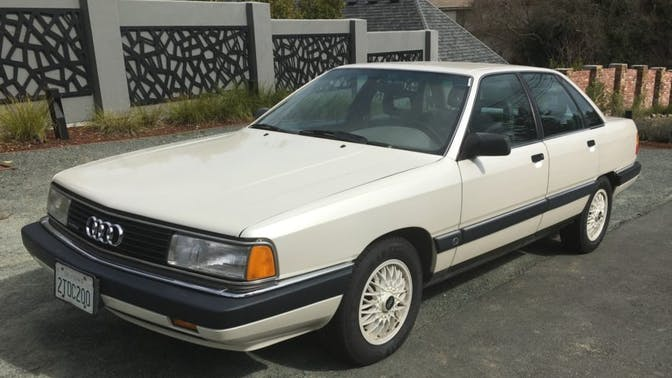 1990 Audi 200 Turbo Quattro 5-Speed