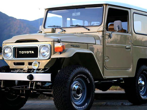 1983 Toyota FJ-40 Land Cruiser