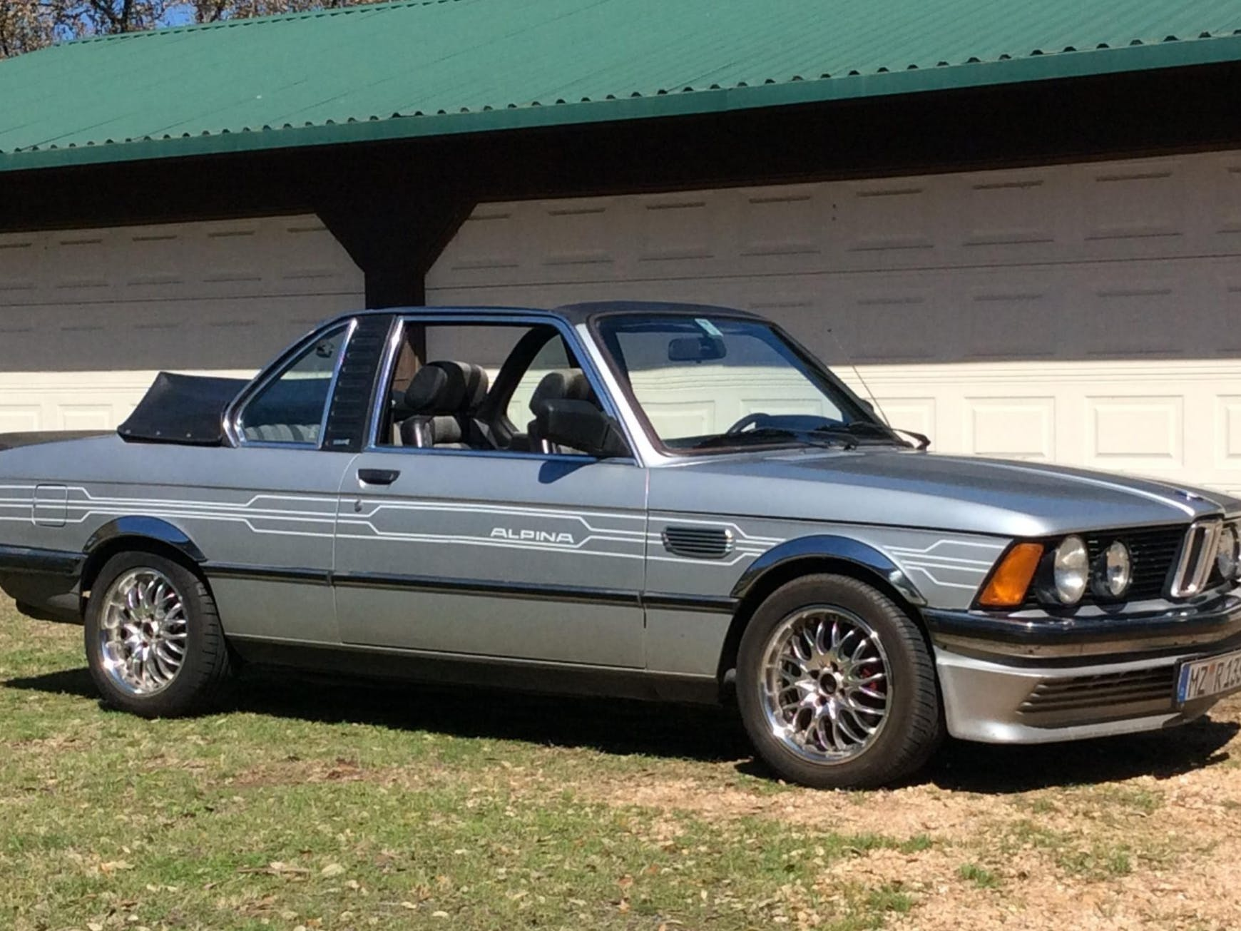 1982 BMW 323i Baur TC