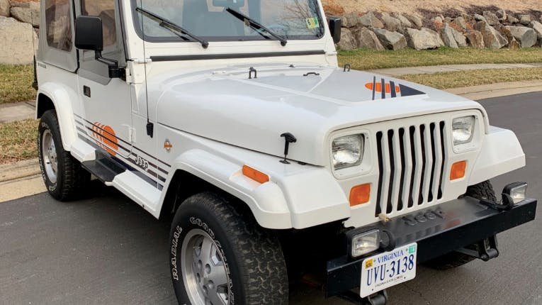 1989 Jeep Wrangler Islander 5-Speed