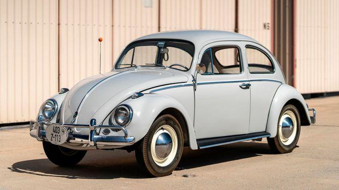 1960 Volkswagen Beetle Coupe
