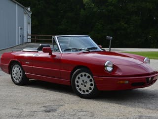 1993 Alfa Romeo Series Iv Spider Veloce Convertible