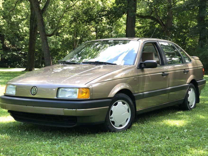 1990 Volkswagen Passat Gl 5-Speed