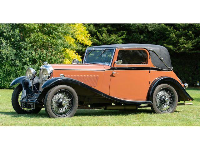 1934 Lagonda Rapier Coupé