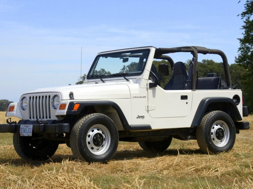 2000 Jeep Wrangler 2.5l 5-Speed