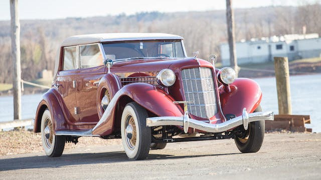 1935 Auburn Model 851 Custom Phaeton