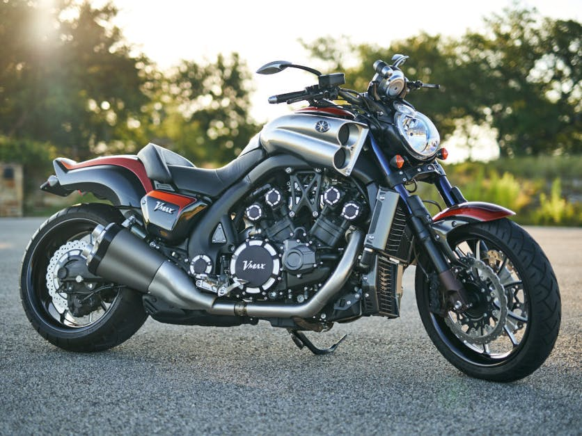 2009 Yamaha Star Vmax Customized for Jay Leno