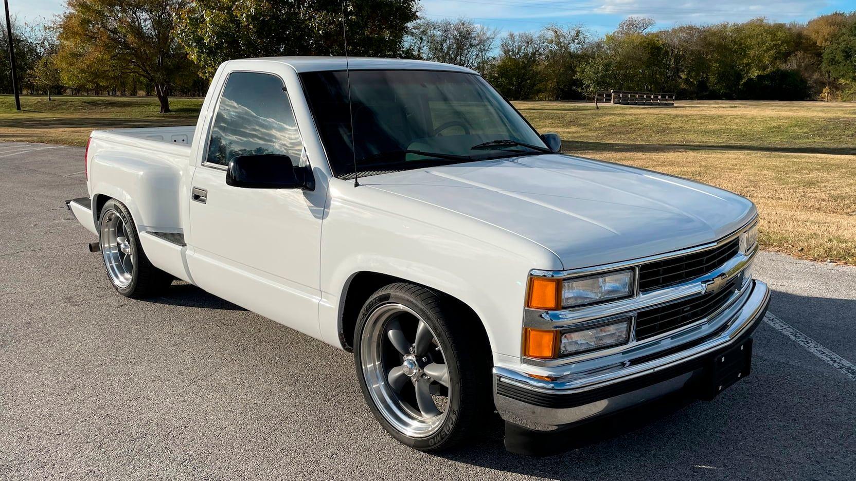 1996 Chevrolet Silverado Pickup Vin 1gcec14m7tz137257 Classic Com