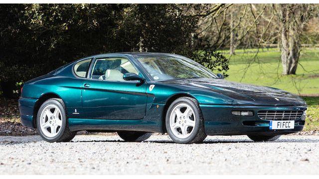 1995 Ferrari 456 Gt Coupé Vin Zffsp44c000100729 Classic Com