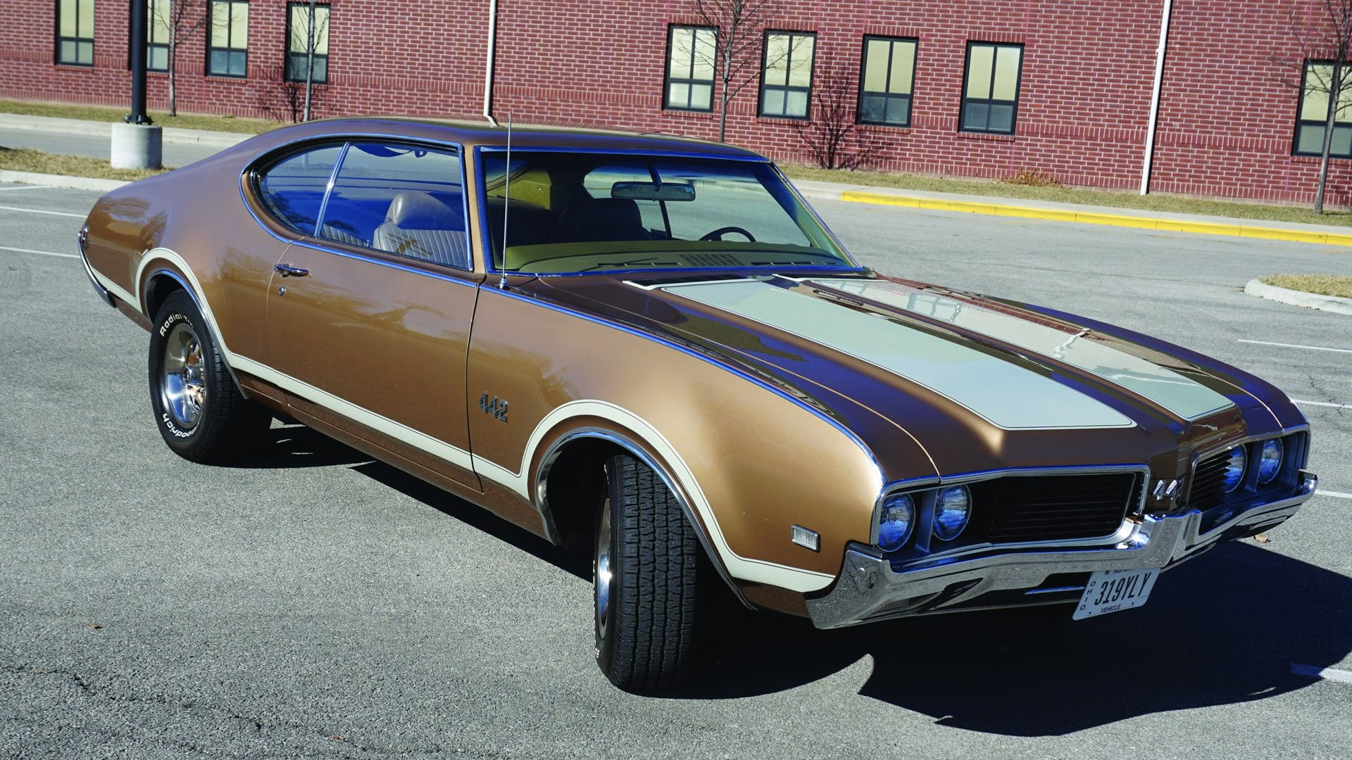 1969 Oldsmobile Cutlass 4-4-2