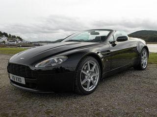 2008 Aston Martin V8 Vantage Roadster - Manual