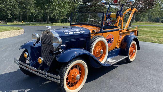1931 Ford Model A Gulf Wrecker