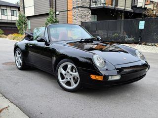 1996 Porsche Carrera 4 Cabriolet 6-Speed