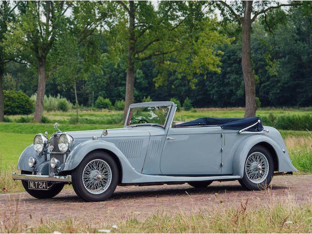 1937 Alvis 4.3-Litre Short Chassis Drophead Coupé