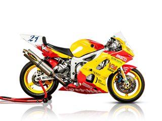 2000 Yamaha 599CC R6 V&m Supersport Racing Motorcycle