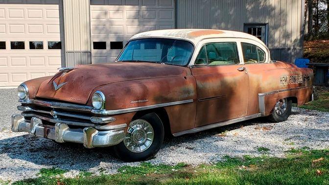 1953 Chrysler New Yorker Deluxe Sedan