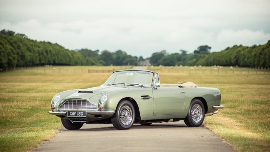 1968 Aston Martin Db6 Vantage Volante Vin Dbvc 3698 R Classic Com