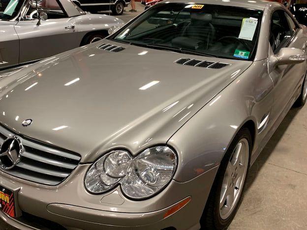 2003 Mercedes-Benz SL500 Convertible