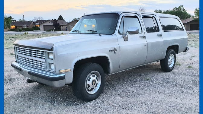 1985 Chevrolet Suburban Silverado 2500 Hd