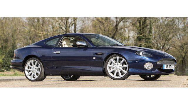 2002 Aston Martin Db7 V12 Vantage Jubilee Limited Edition Coupé Vin Scfab12392k303086 Classic Com