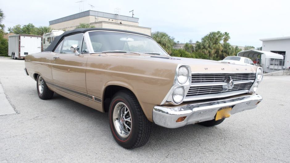 1966 Ford Fairlane GT Convertible 4-Speed