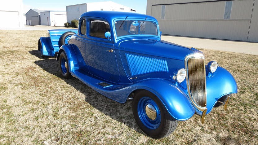 1934 Ford 5 Window Coupe Street Rod