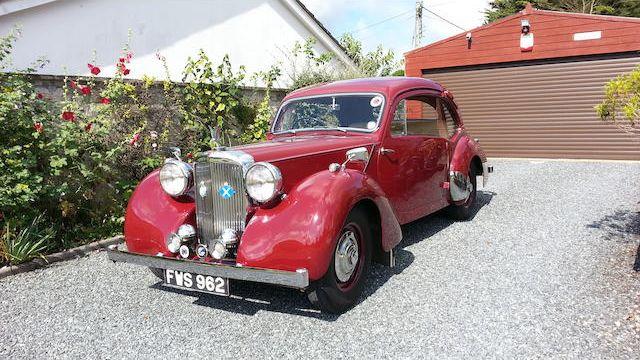 1946 Alvis TA14 Coupé