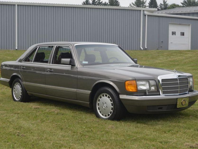 1987 Mercedes-Benz 420SEL