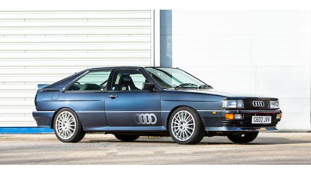 1989 Audi Quattro V8 Special Coupé