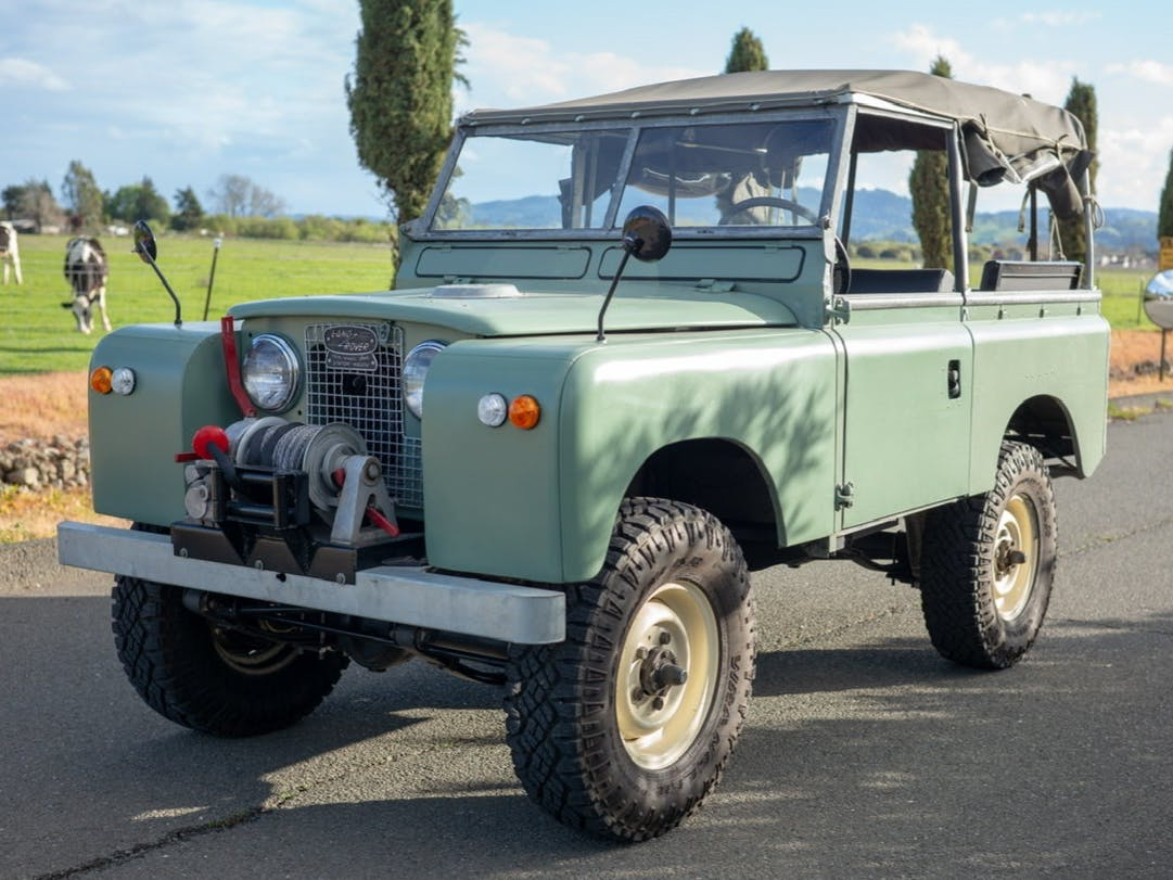 1967 Land Rover 88 Series IIA