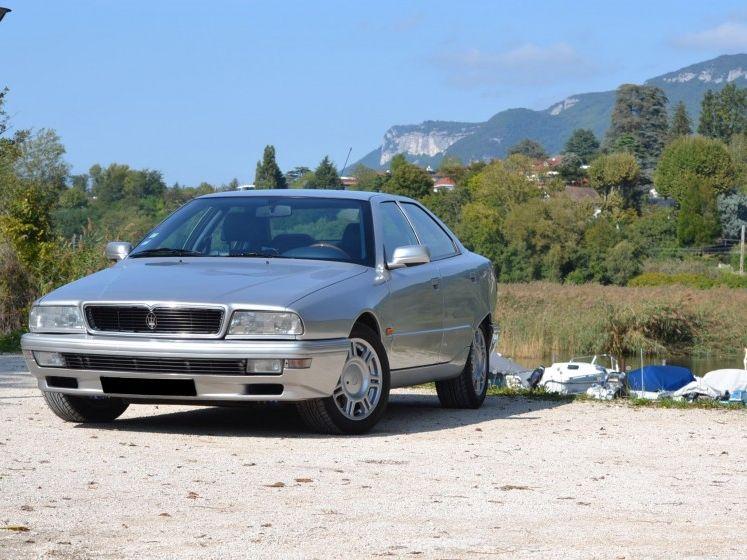 1995 Maserati Quattroporte Iv 2.0l not sold at Artcurial ...