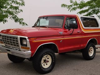 1978 Ford Bronco XLT 4×4 4-Speed
