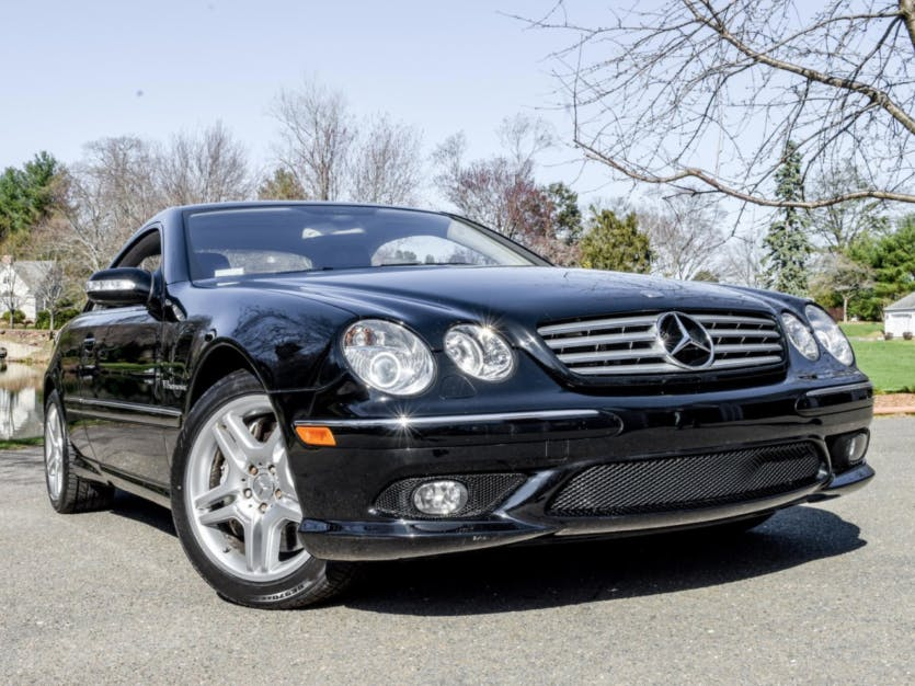 2005 Mercedes-Benz CL55 AMG for Charity