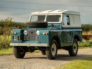 "1963 Land Rover Series IIA 88"""