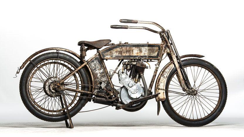 1914 Harley-Davidson Single Belt Drive