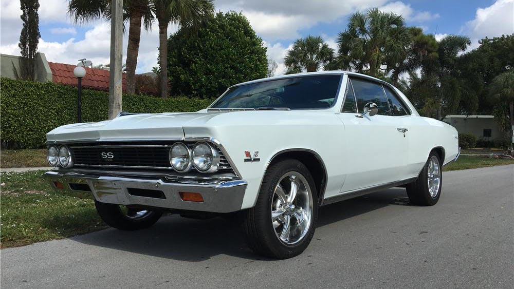 1966 Chevrolet Chevelle Custom Coupe