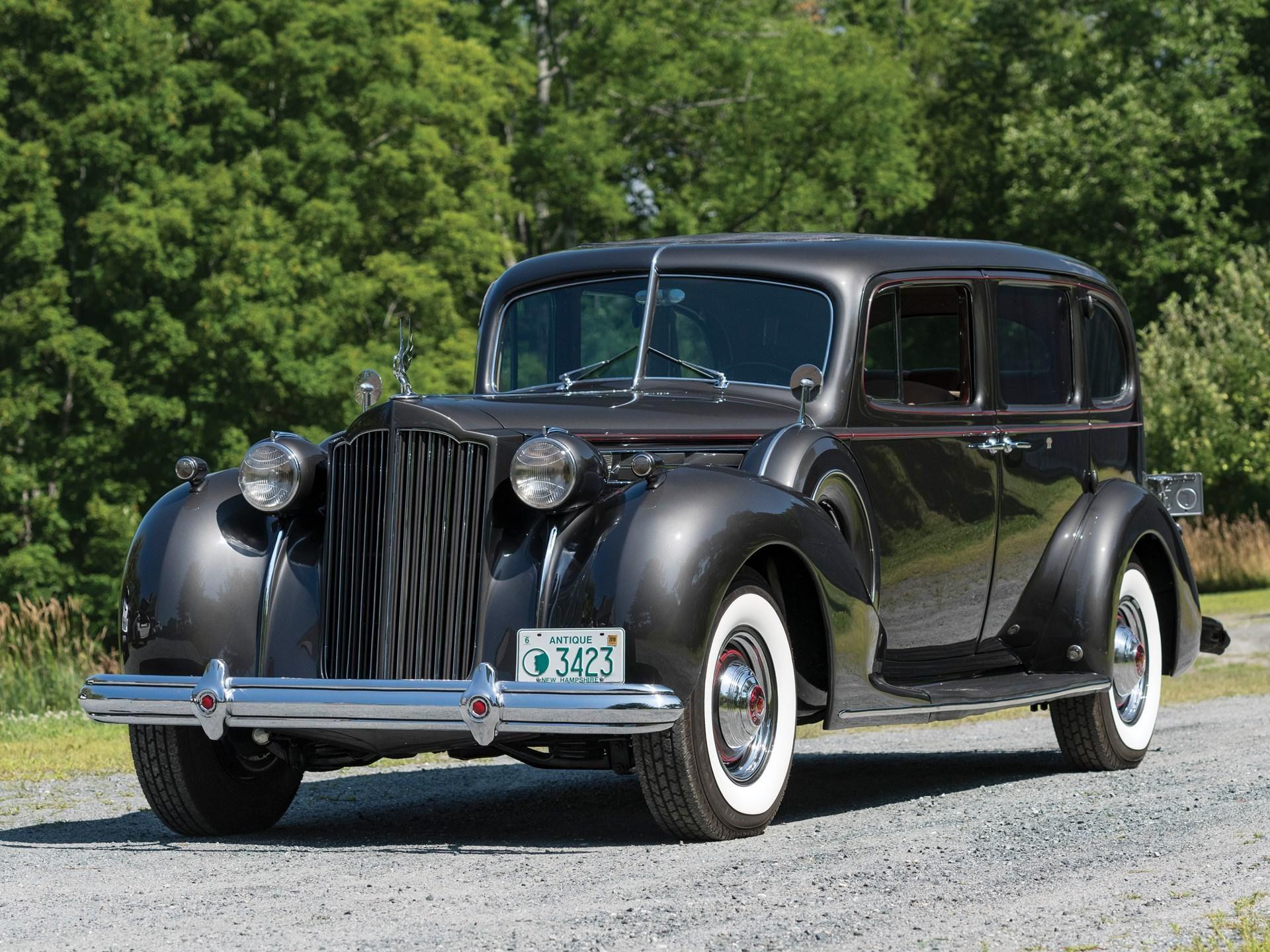 1939 Packard Twelve Seven-Passenger Touring Sedan