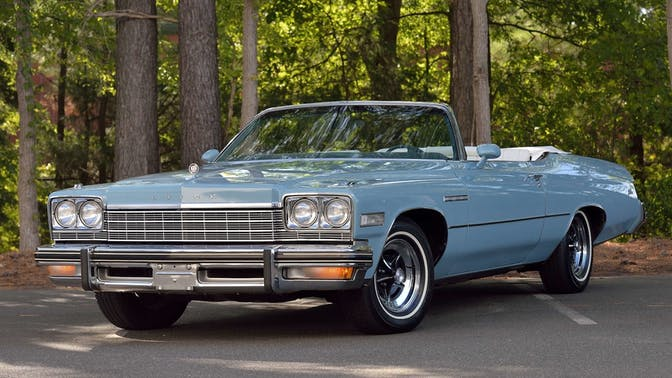1975 Buick Lesabre Custom Convertible
