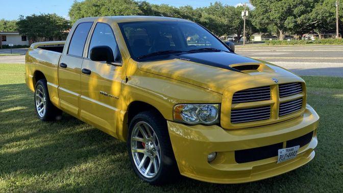 2005 Dodge Ram SRT-10 Yellow Fever Edition