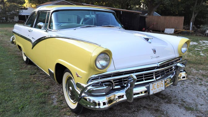 1956 Ford Fairlane Previously Converted to A Crown Victoria