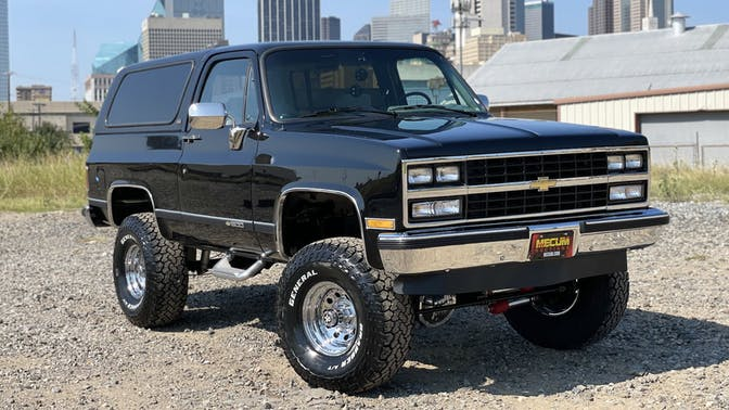 1990 Chevrolet Blazer 1500 Silverado Slt