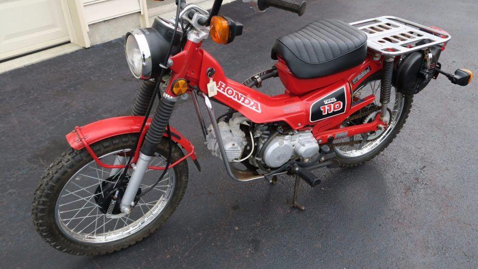 1986 Honda CT110