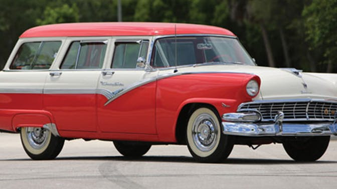 1956 Ford Fairlane Country Sedan