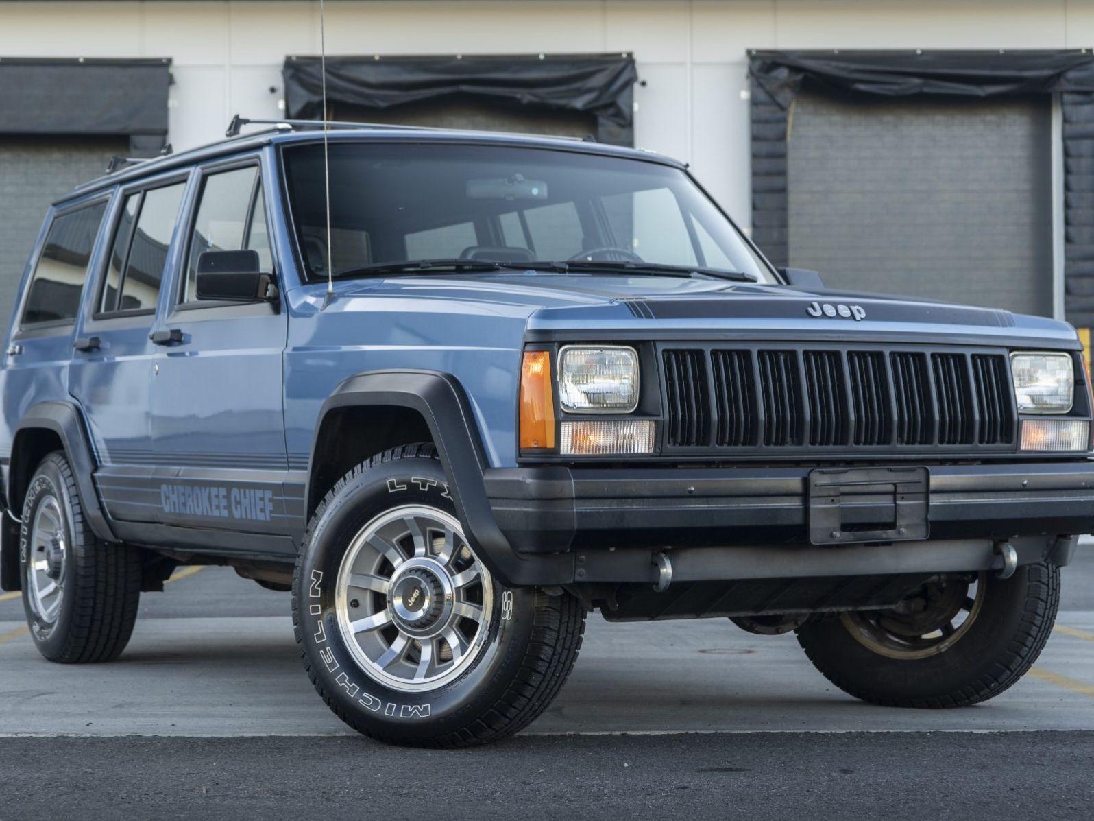 1988 Jeep Cherokee Chief 4×4