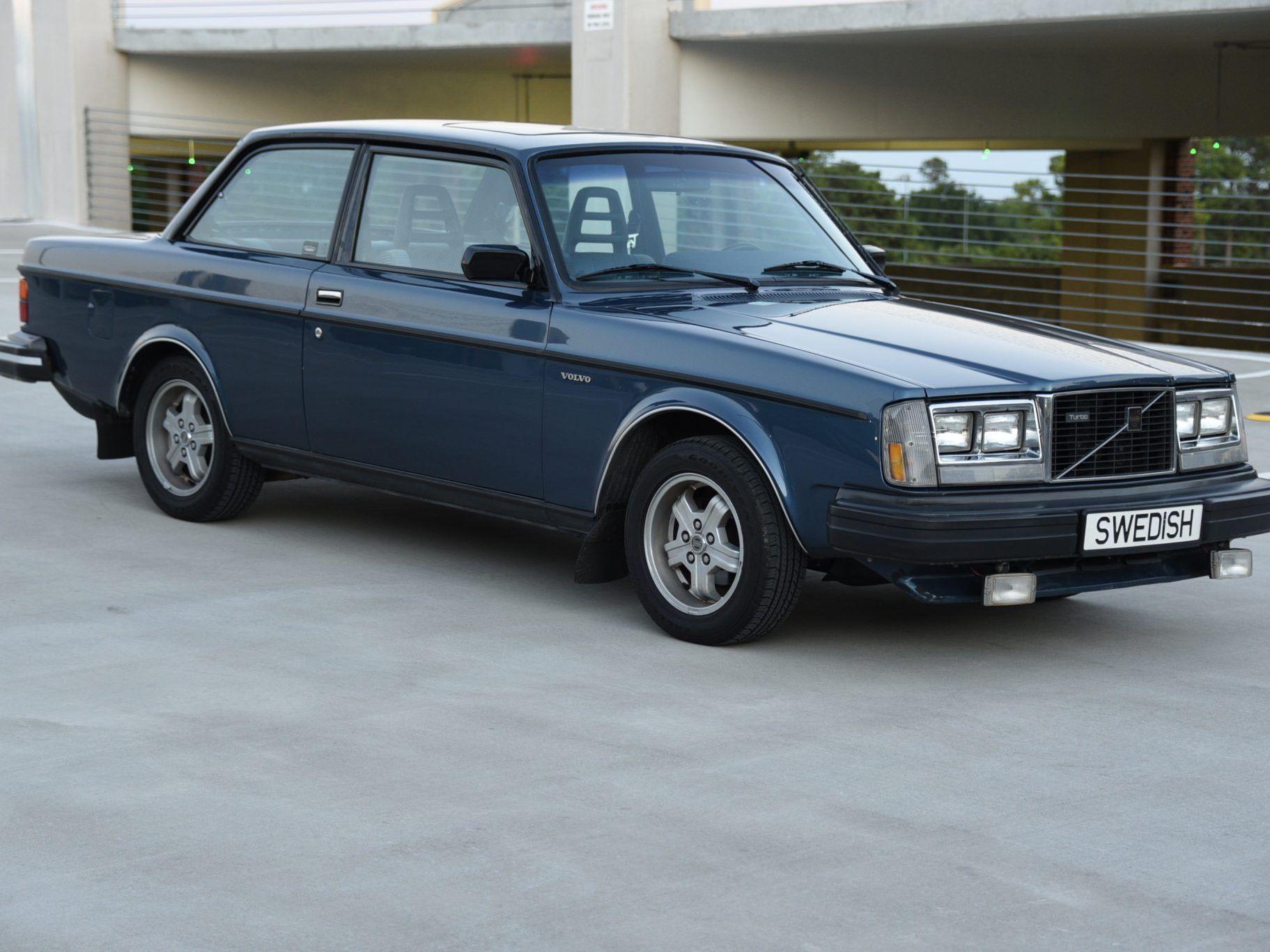 1983 Volvo 242 Turbo 4-Speed