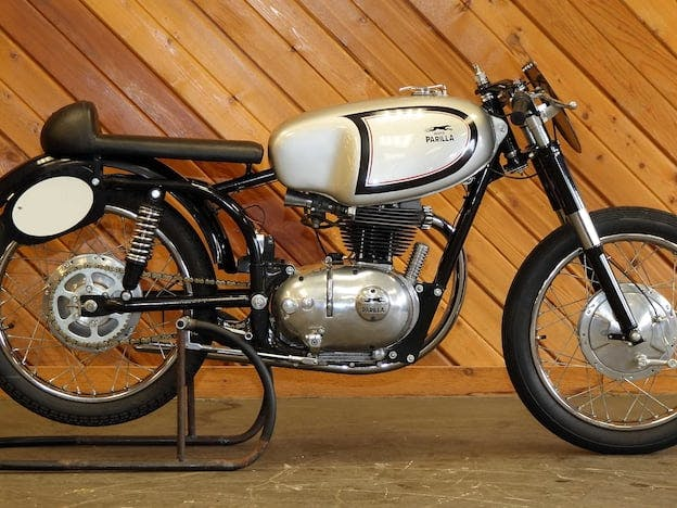 1959 Moto Parilla 200CC Racer
