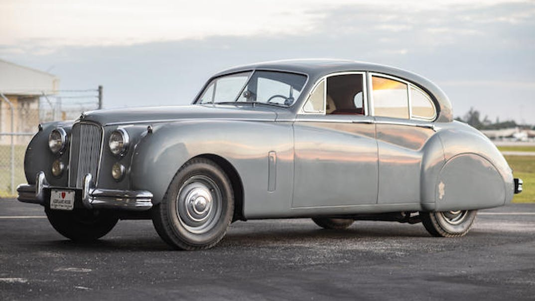 1953 Jaguar Mark Vii Sedan VIN: 734637 - CLASSIC.COM