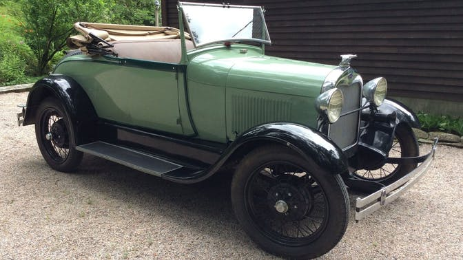 1928 Ford Model A Standard Roadster With A Rumble Seat