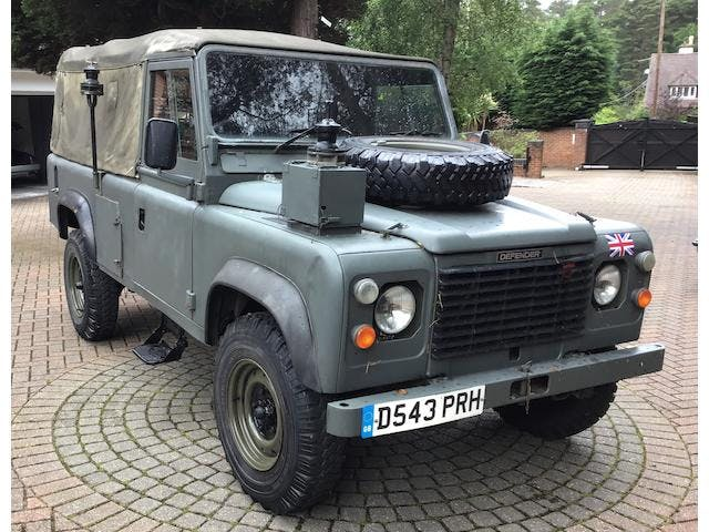 1987 Land Rover 110 Defender 4X4 Utility