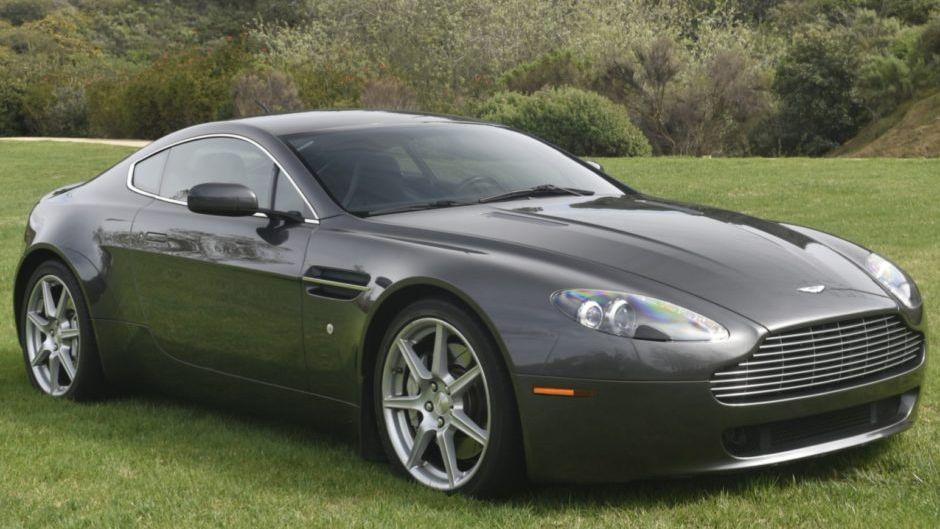 2006 Aston Martin V8 Vantage 6 Speed Vin Scfbb03b26gc01788 Classic Com